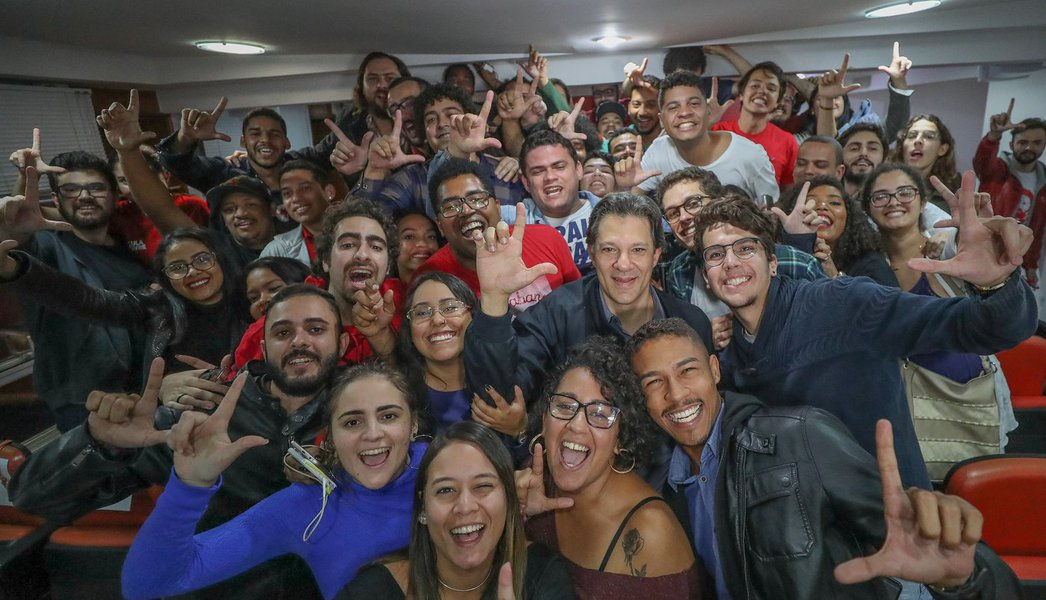 Haddad: problema central do País é o projeto do PSDB