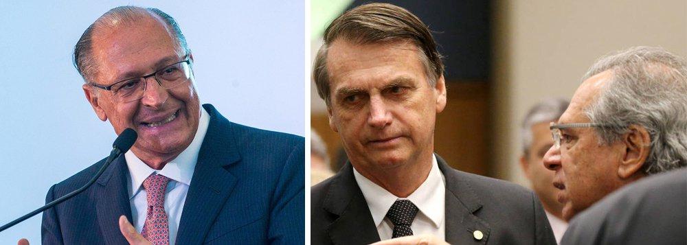 Não entender e terceirizar dá nisso, diz Alckmin sobre 'Posto Ipiranga' de Bolsonaro