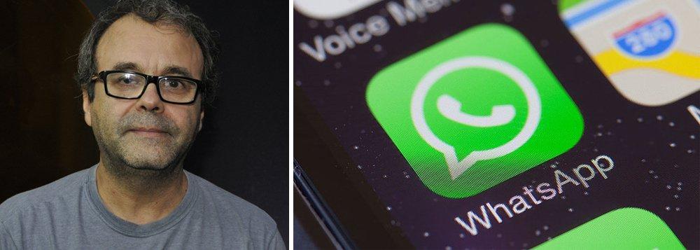 WhatsApp deve entregar os metadados da eleição, diz Sergio Amadeu
