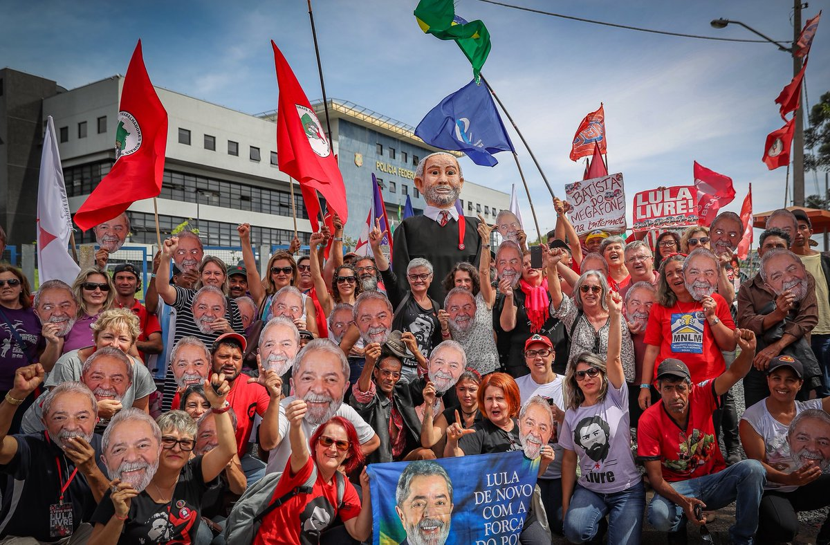 Campanha Lula Livre ganha amplitude e força