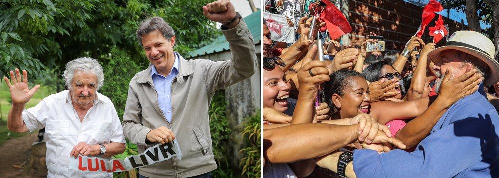 Mujica, sobre a perseguição a Lula: 'estão construindo um mito'
