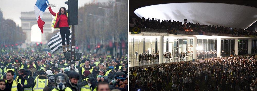 'Coletes Amarelos' na França: a revolução não será televisionada!