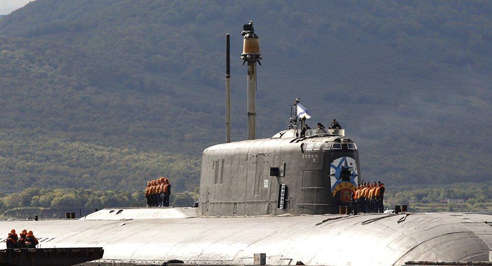 Marinha russa vai equipar com mísseis seus  submarinos nucleares