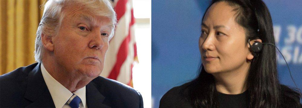 Trump admite interferir no caso de executiva chinesa para garantir acordo comercial