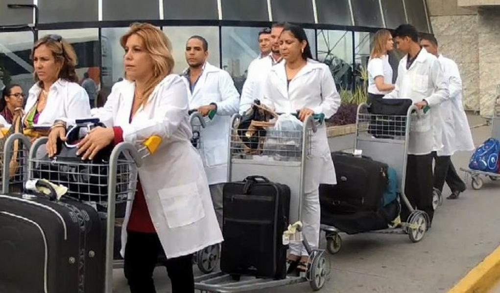 A saída dos cubanos do Mais Médicos