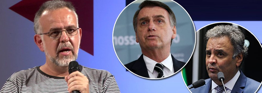 Kiko Nogueira: Bolsonaro é o Aécio amanhã