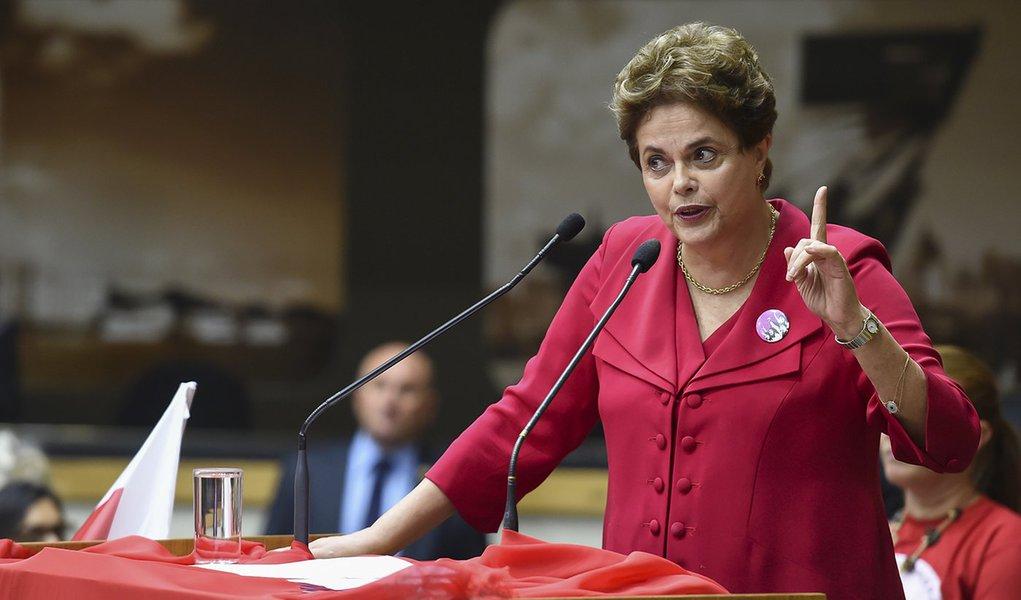 Dilma: lutas agora devem ser travadas fora da institucionalidade