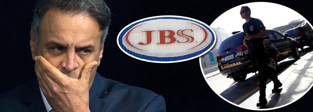 Aécio: mesada de R$ 50 mil da JBS e negócios milionários