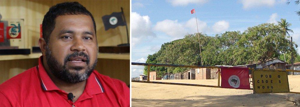 João Paulo Rodrigues, do MST: mortes no campo aumentaram após o golpe