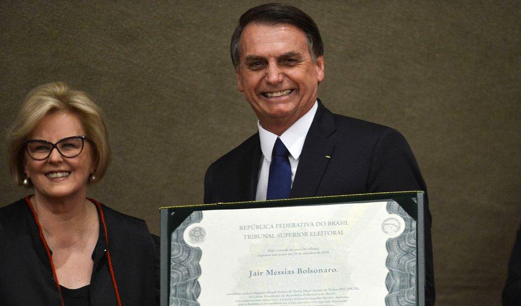 Rosa Weber mandou recado claro a Bolsonaro