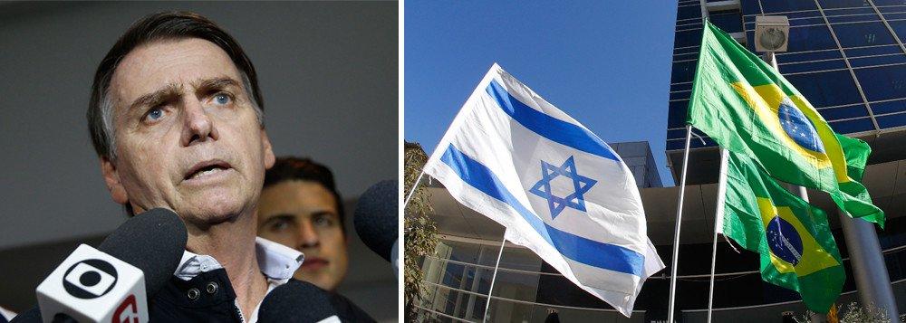 Liga Árabe pede a Bolsonaro que reconsidere mudança de embaixada em Israel