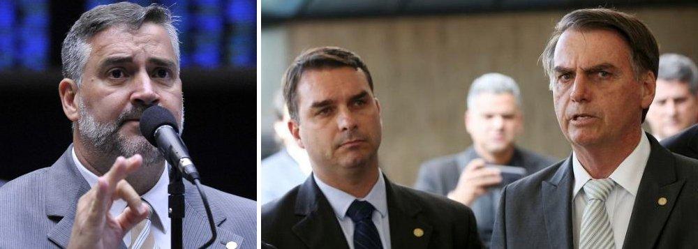 Paulo Pimenta pede investigação sobre vazamento para família Bolsonaro