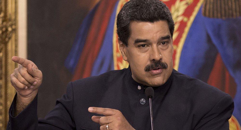 Maduro: EUA organizam golpe de Estado na Venezuela
