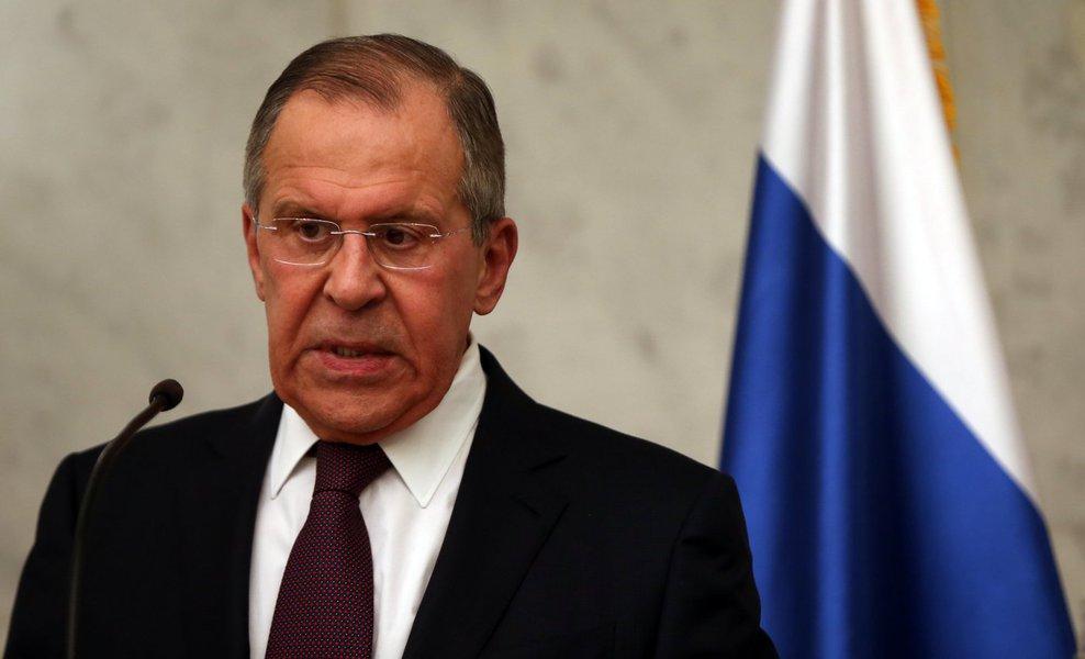 Por telefone, chanceler russo adverte EUA contra 'uso da força' na Venezuela