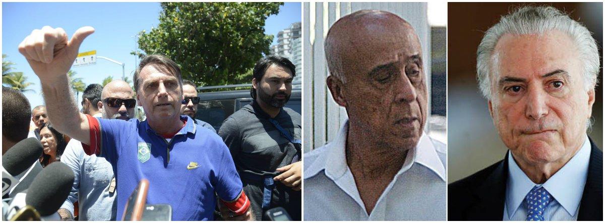Bolsonaro terá de gastar muita saliva para provar que Fabricio não é Lima