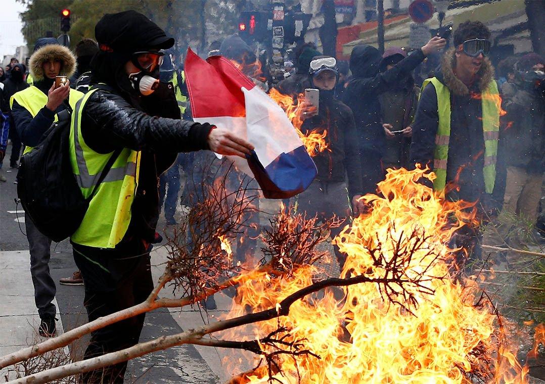 Governo francês anuncia novo saldo de detenções e fala em perdas econômicas