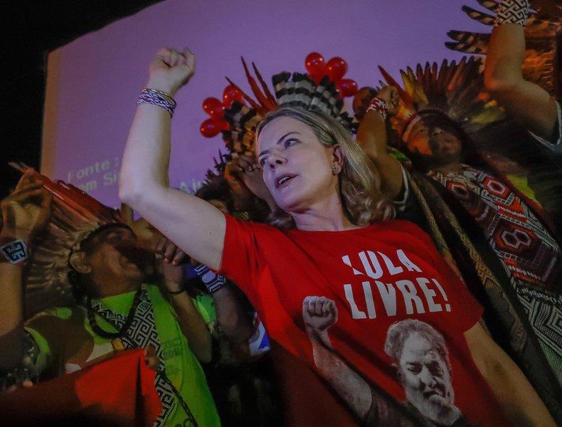 Gleisi: esses assassinatos na Paraíba demonstram a atual repressão contra os movimentos populares