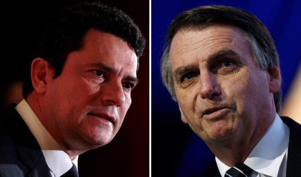 Suspeita sobre ex-assessor dos Bolsonaro põe Moro em saia-justa