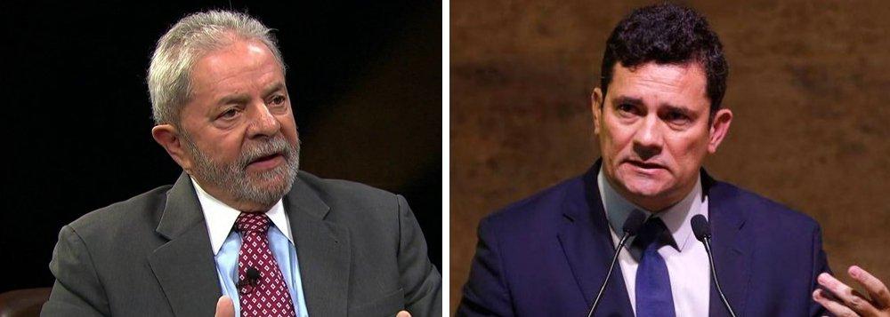 Lula à BBC: Moro teve uma agenda política