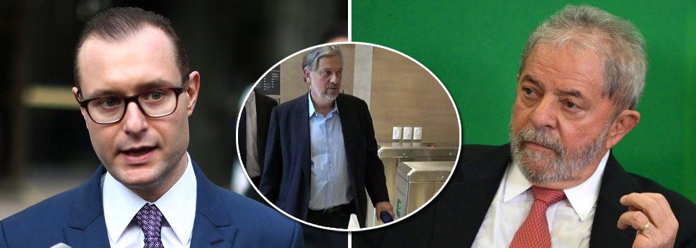 Zanin: após ser beneficiado, Palocci mente para atacar Lula