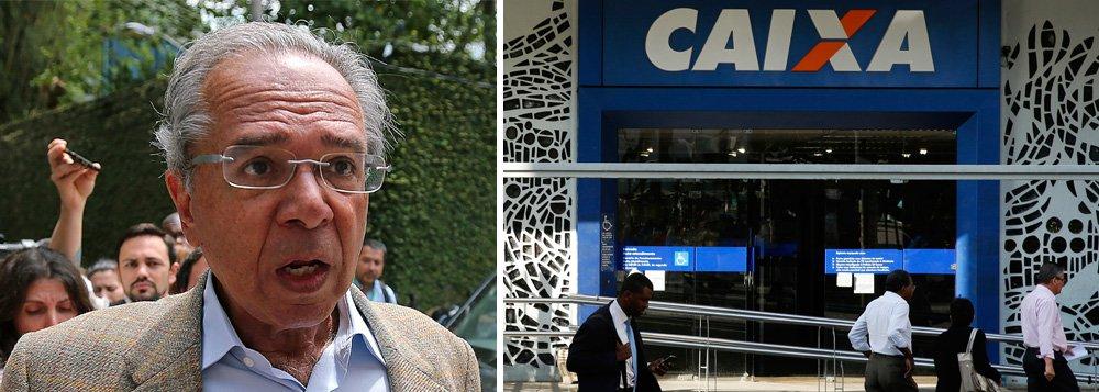 Defendida por Guedes, privatização da Caixa devastaria políticas sociais