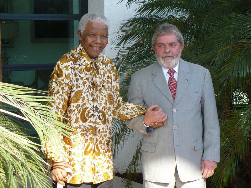 Lula e Mandela