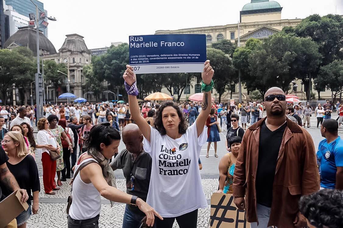 Marielle Franco é homenageada no relatório da Rede de Justiça e Direitos Humanos