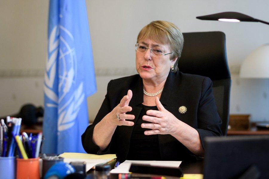 Bachelet diz que ONU monitora Brasil de perto em relação à liberação das armas