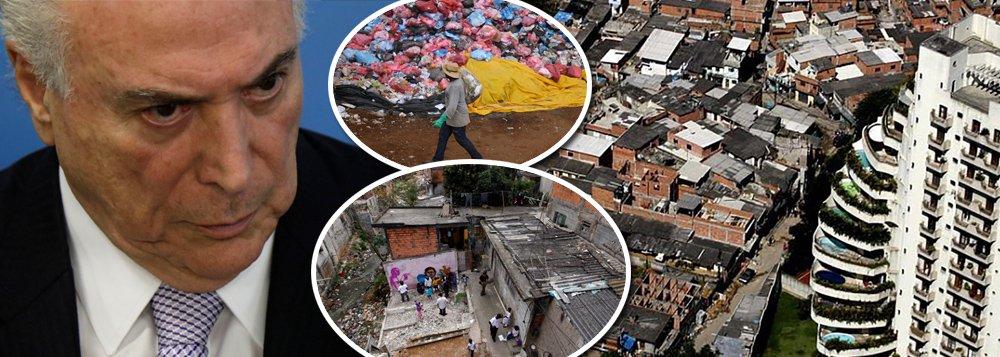 Topo da pirâmide no Brasil tem 43% da renda do país