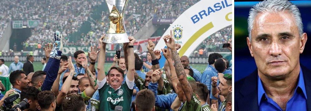 Tite sobre comemorar título com Bolsonaro: eu não me sinto confortável