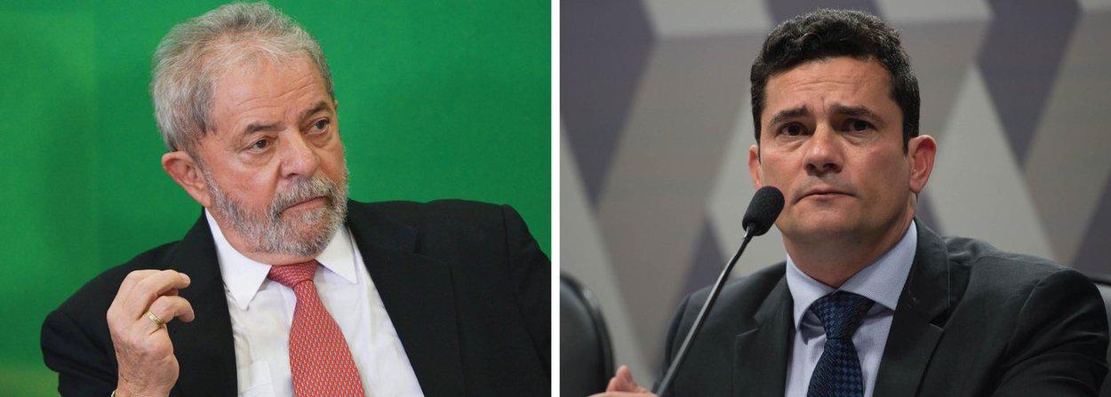 Lula: quem cometeu crimes foi Sérgio Moro