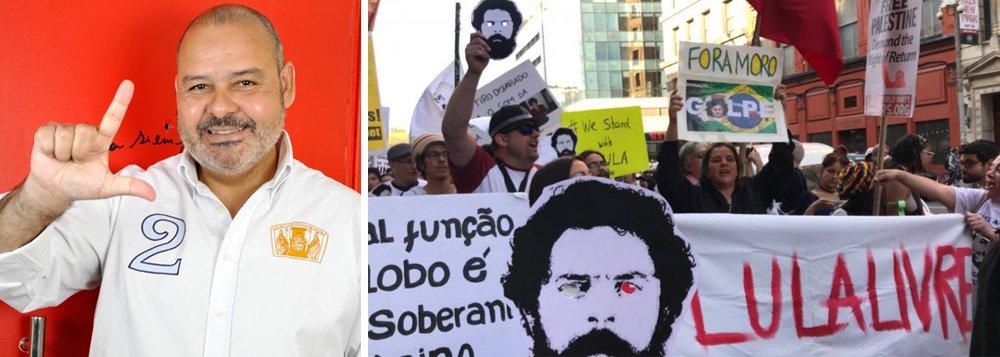 Vagner Freitas: Lula livre precisa ser o principal mobilizador de luta