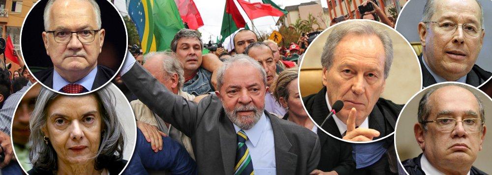 Gilmar pede vista com 2 a 0 para manter Lula preso