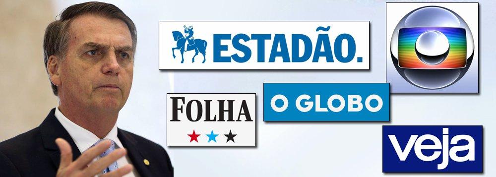 Bolsonaro cortará verba da mídia tradicional que o apoiou