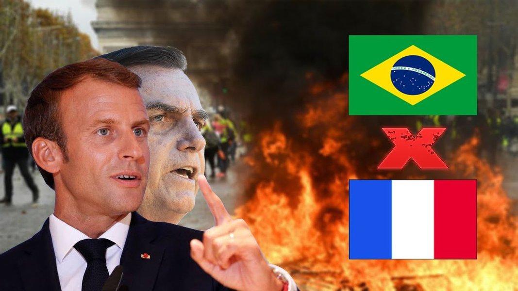 Especialistas comentam o que está por trás da divergência entre Bolsonaro e Macron