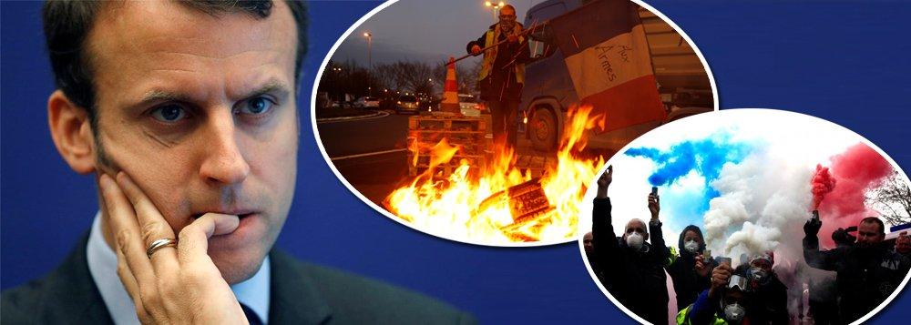 A lição da França: povo na rua derrota Macron e agenda neoliberal