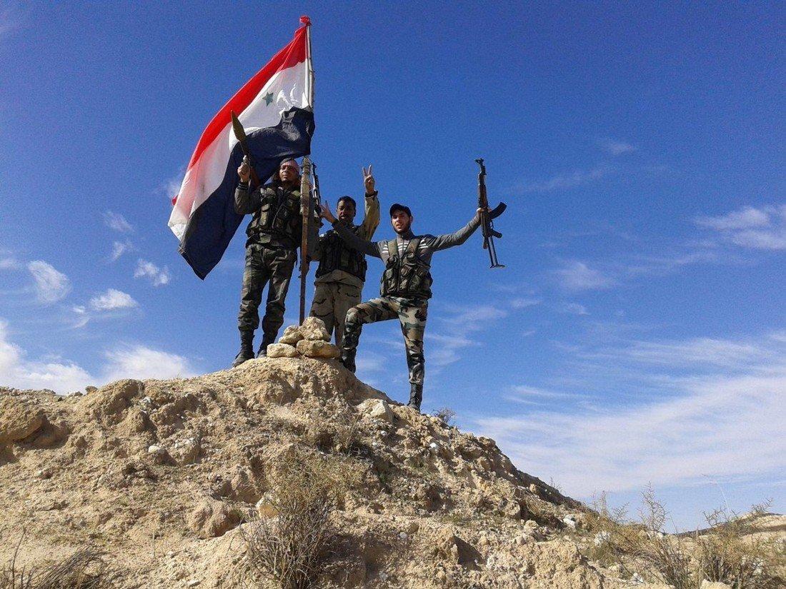 Síria anuncia vitórias no combate ao terrorismo