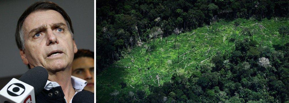'Brasil será coadjuvante se não mostrar responsabilidade ambiental'