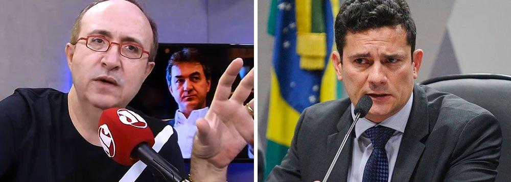 Reinaldo Azevedo: investigação de Moro tem cheiro de armadilha