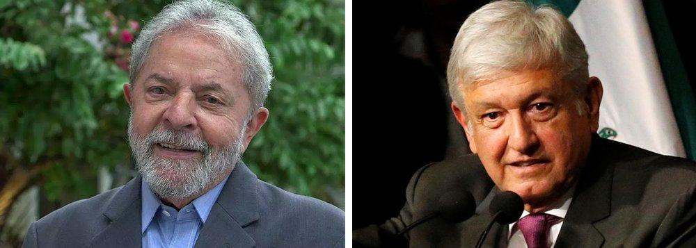 Lula manda carta a López Obrador: sua eleição trouxe esperança
