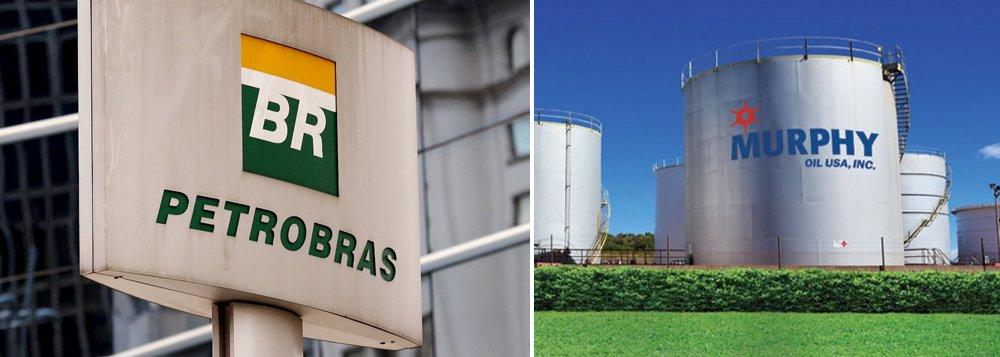 Petrobrás recebe US$ 795 mi após parceria com Murphy Oil