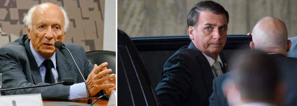 Ricupero: Ideologia de Bolsonaro é tosca e pode prejudicar Brasil