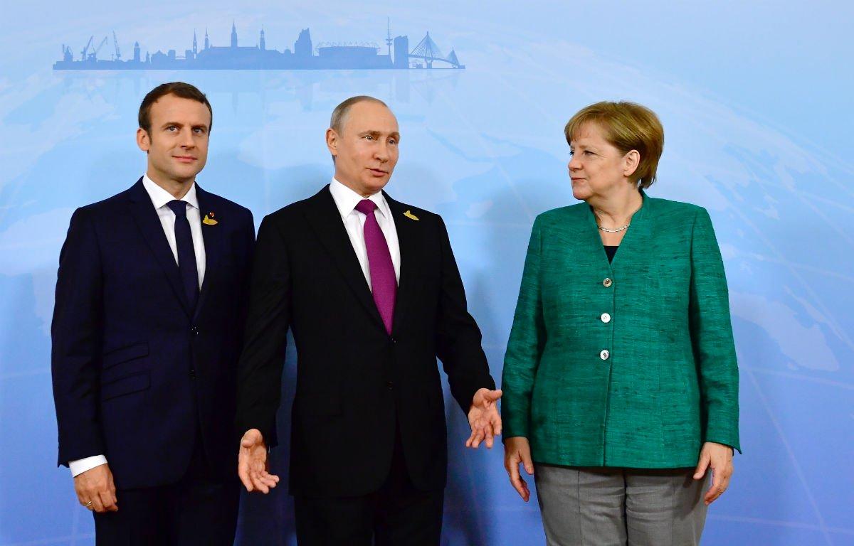 Putin conversou com Merkel e Macron sobre provocação da Ucrânia