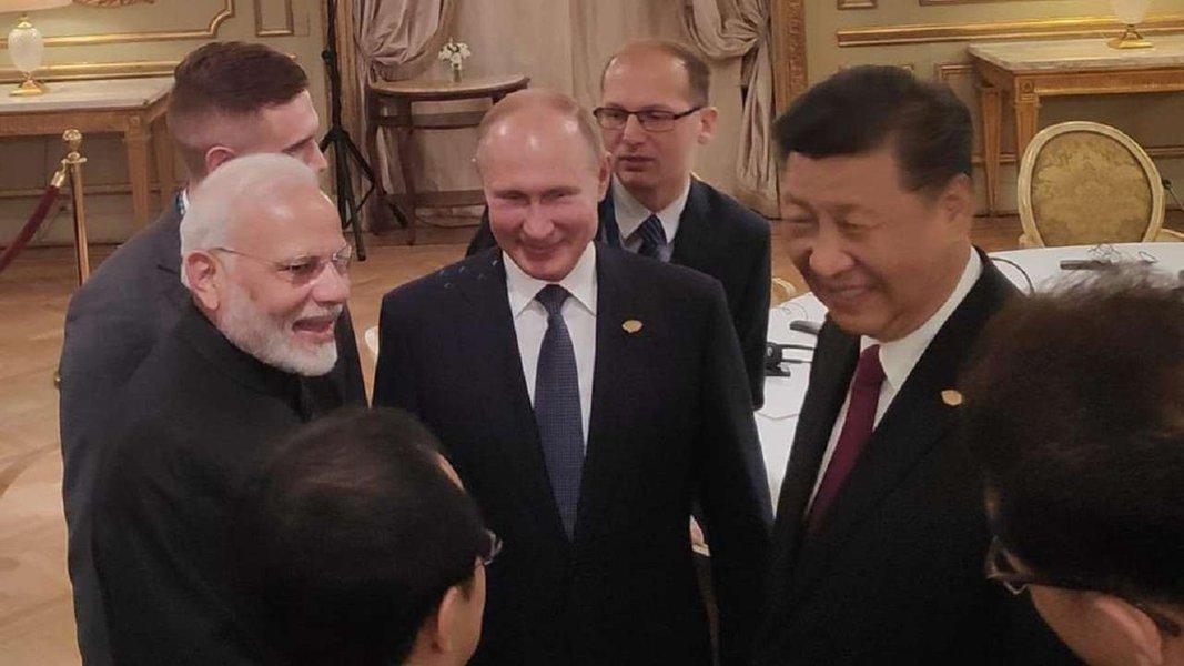 China, Rússia e Índia impulsionam cooperação trilateral