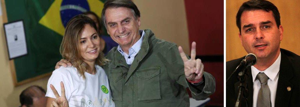 Conexão da família do PM Queiroz envolve Jair, Michele e Flávio Bolsonaro