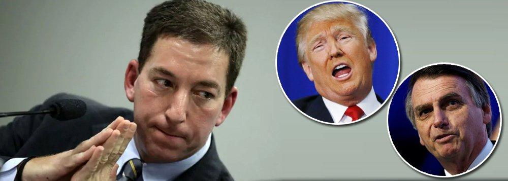 Glenn Greenwald: Bolsonaro é muito mais perigoso do que Trump