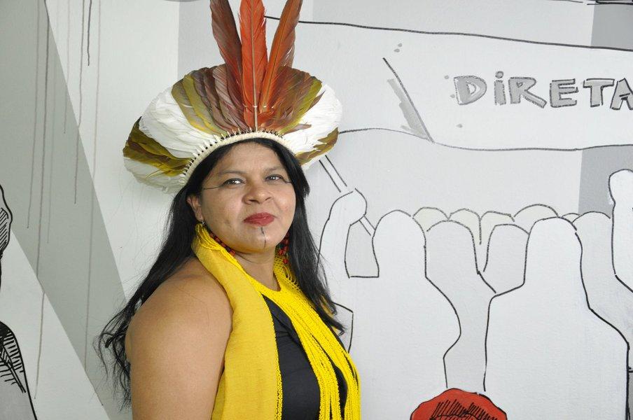 Guajajara: Nossas terras não estão à venda, Bolsonaro!