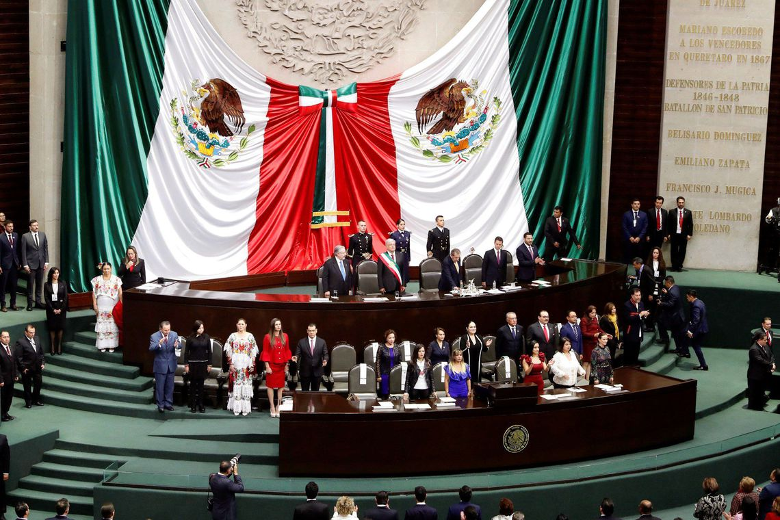 """""""Neoliberalismo é sinônimo de corrupção"""", diz Obrador na posse no México"""