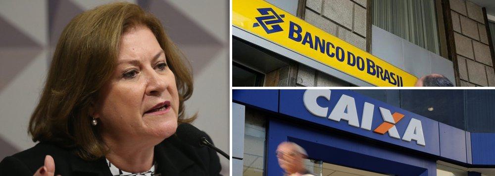 Miriam Belchior: BB e Caixa são essenciais e não podem ser privatizados