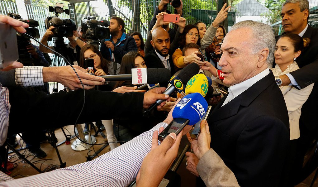 Michel Temer assina declaração de apoio ao Acordo de Paris